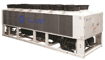Clivet air cooled screw chiller
